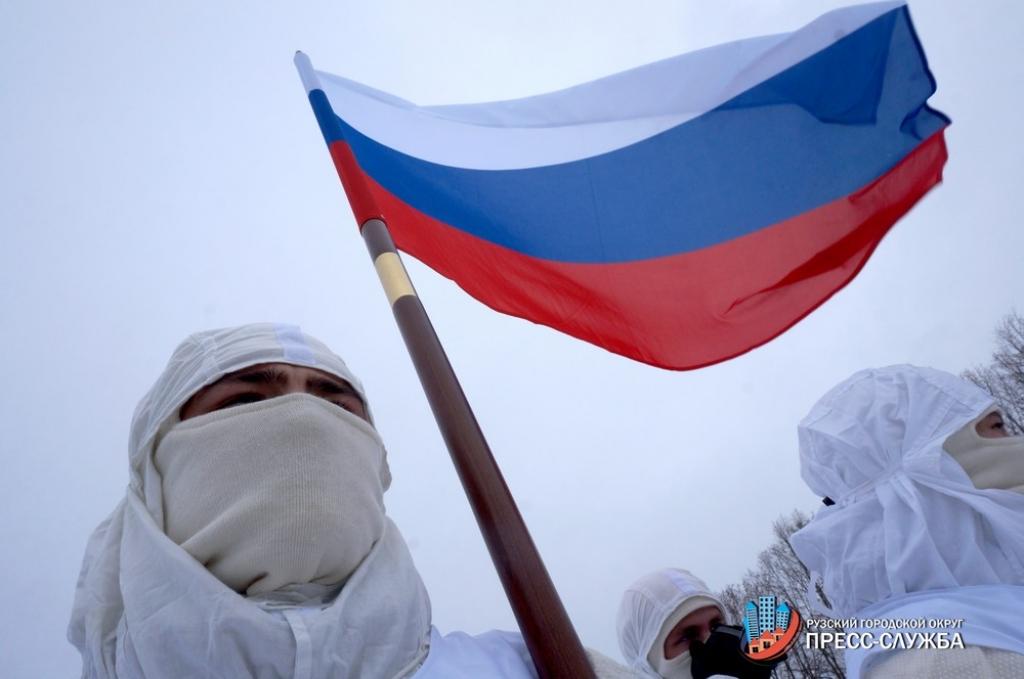 Новороссийские десантники направились впеший поход доРязани